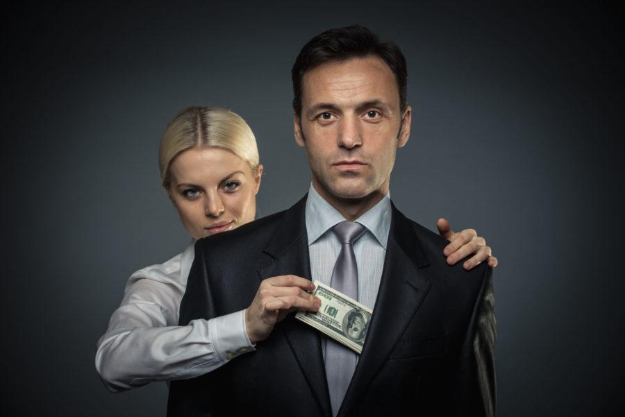 девушка просит деньги регулярно