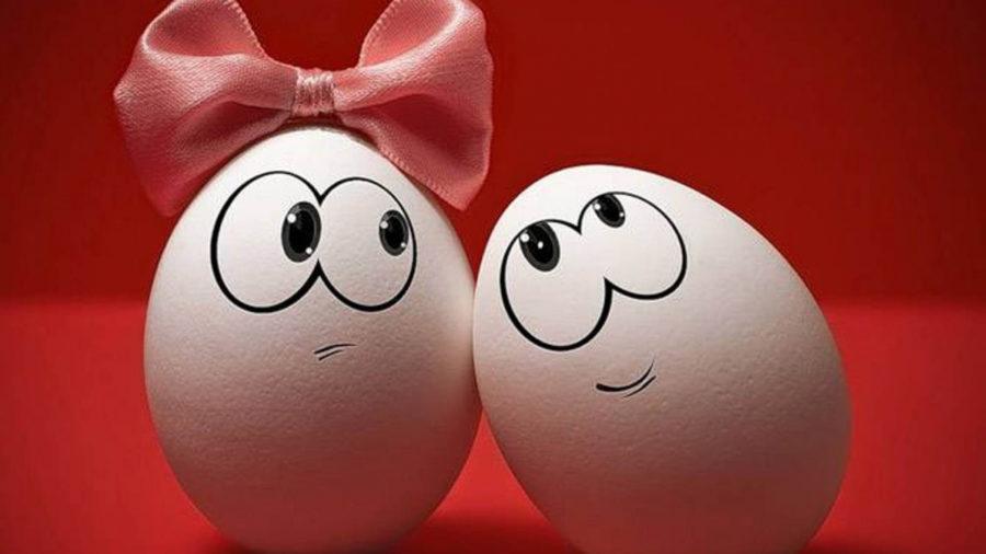 влюбленное яйцо