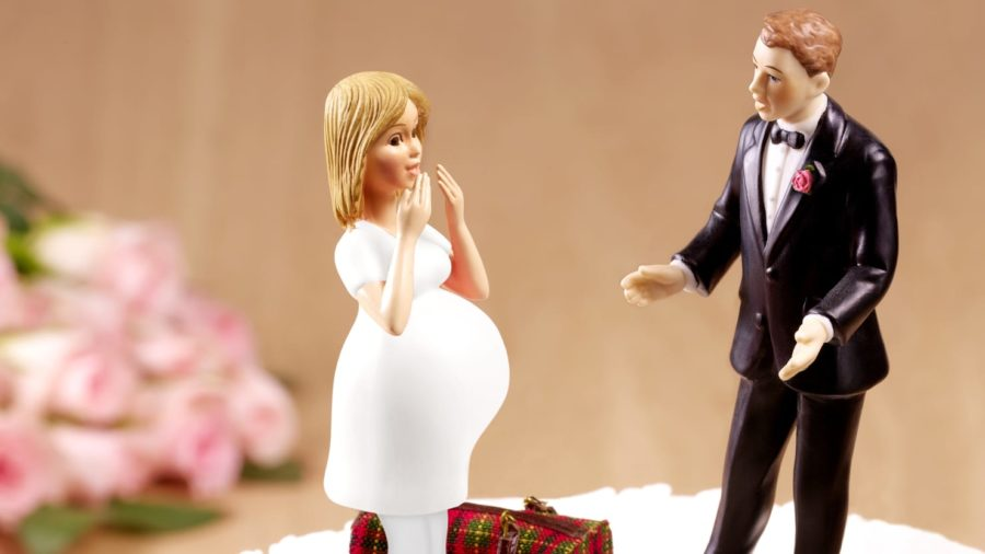Брак по залёту