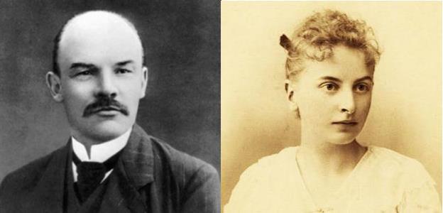 Владимир Ленин и Инесса Арманд