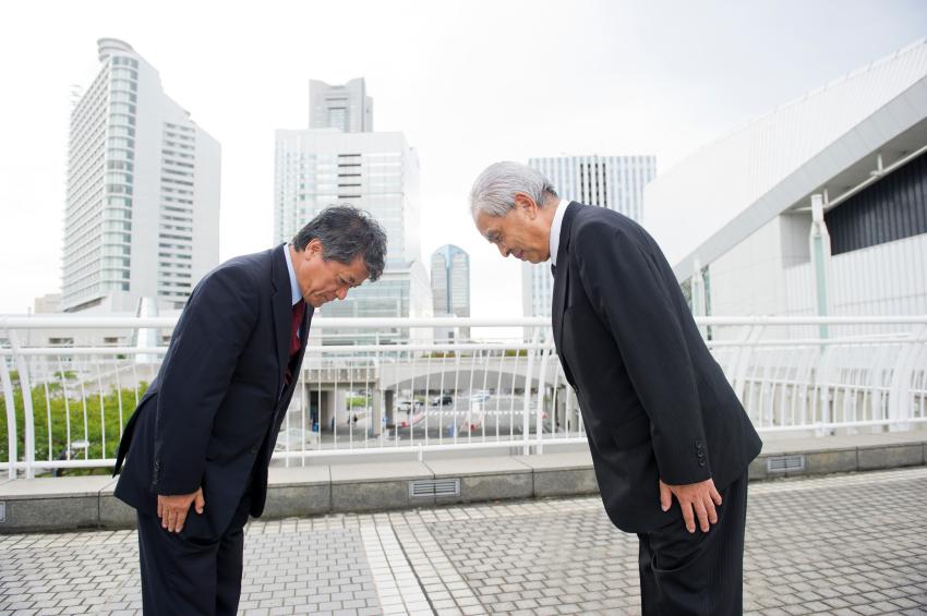 вежливость в японии