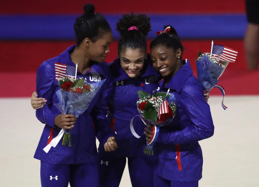 американские гимнастки