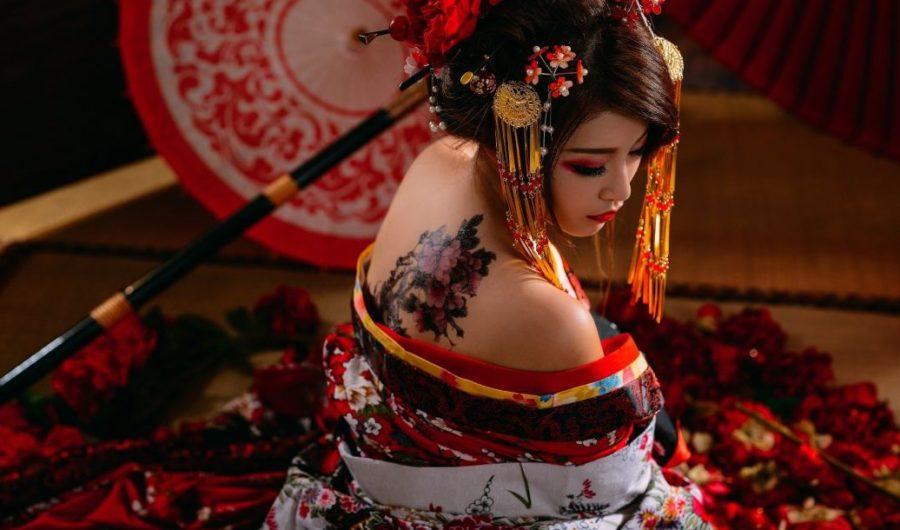 образы красивых японок