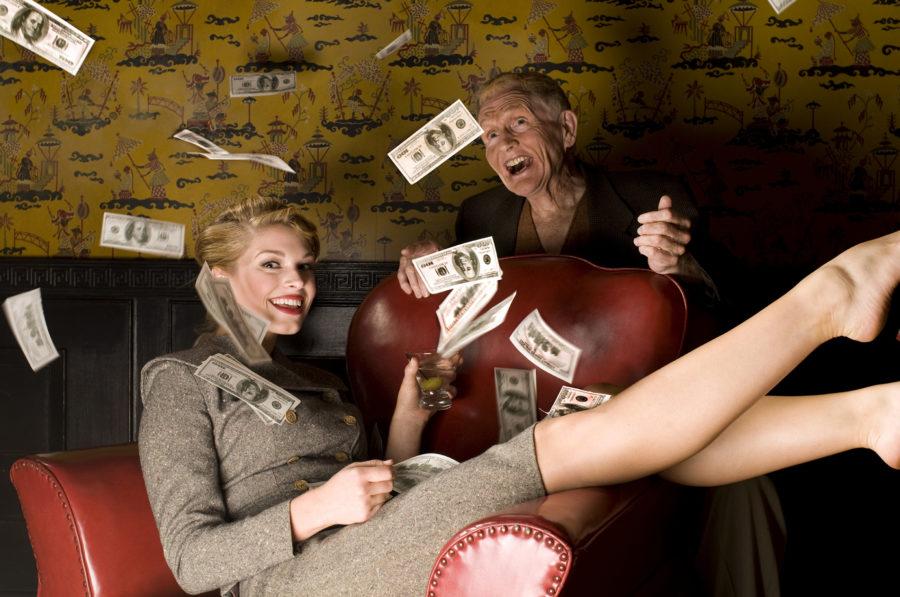 девушки и деньги