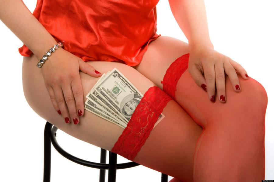 девушка за деньги