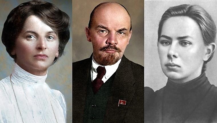 Крупская ,Ленин и Арманд