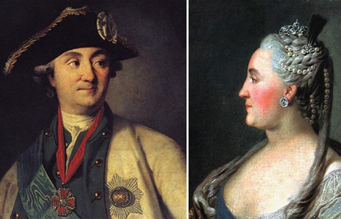 Григорий Орлов и Екатерина