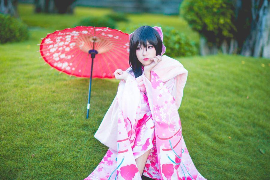 красивая японка
