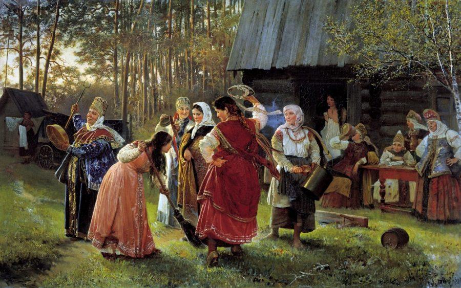 свадебные обряды Древней Руси