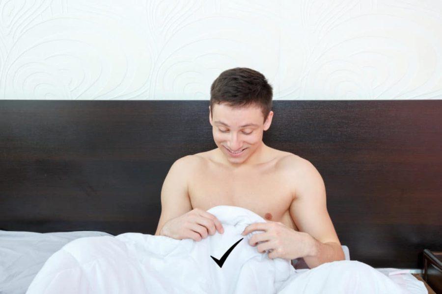 парень боится секса