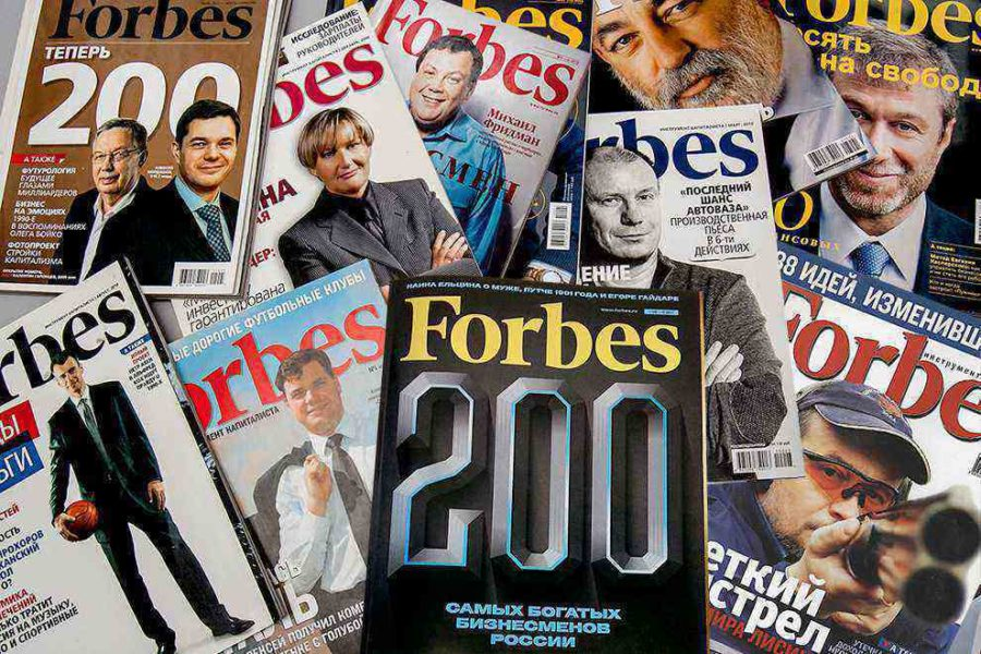 публикация  Forbes