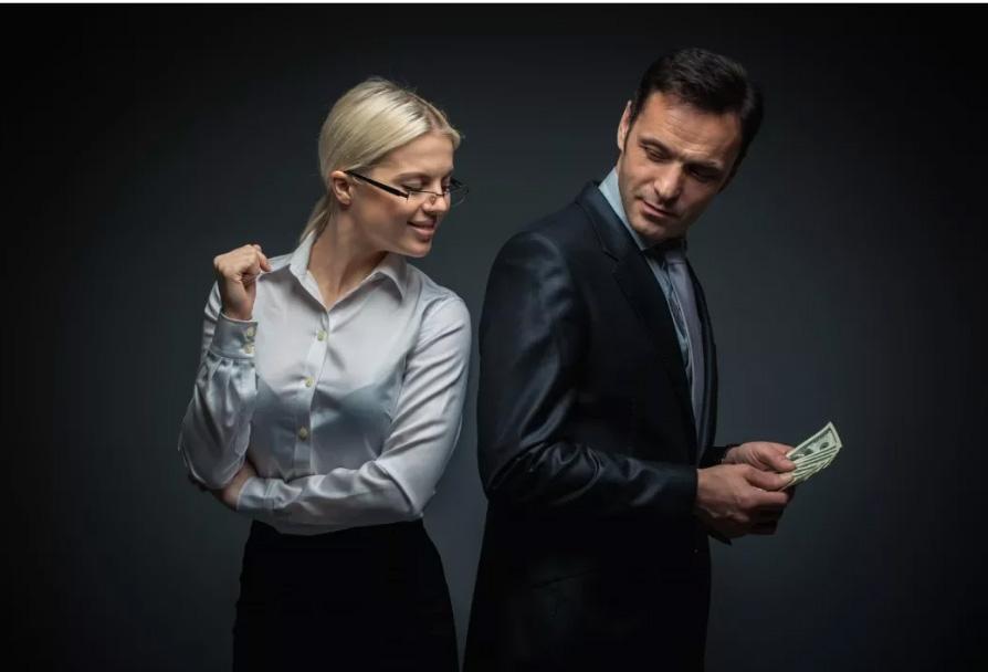 Как девушке брать деньги
