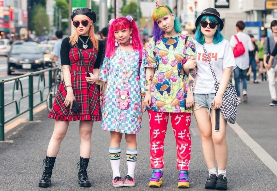 мода японии
