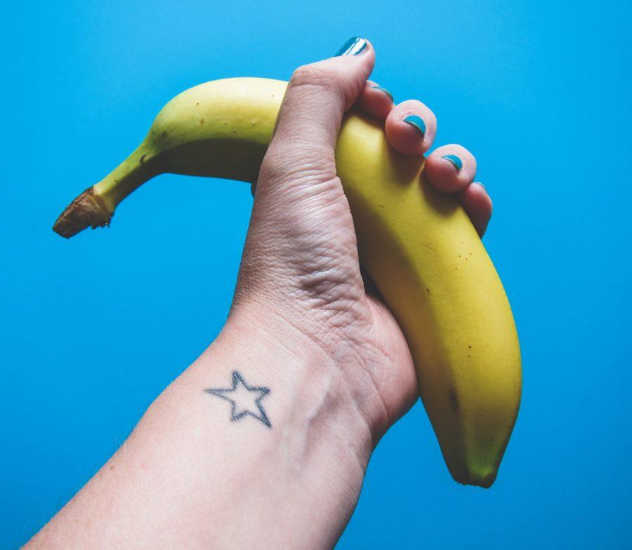 большой банан