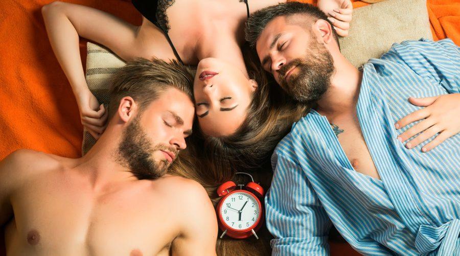 подготовка к первому сексу втроем