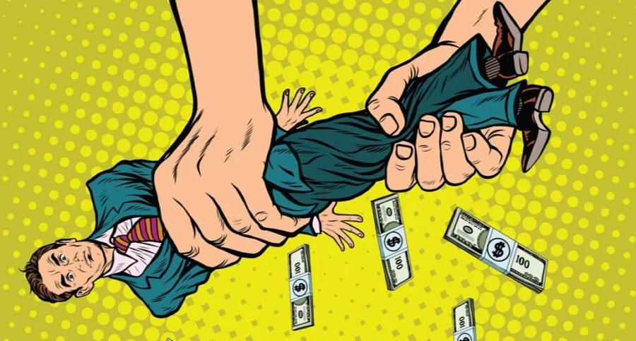 Женщины получают деньги за секс
