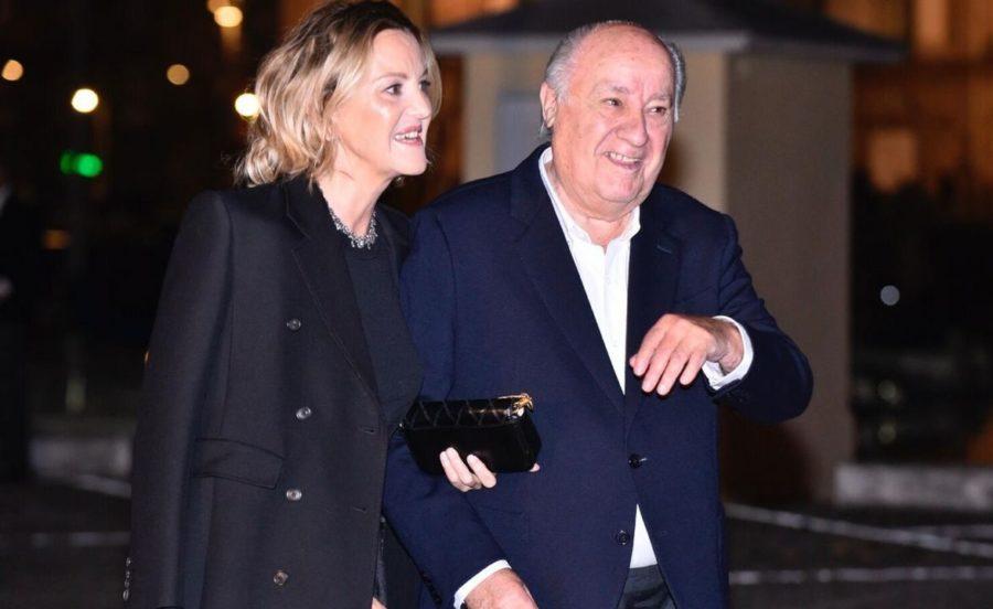 Амансио Ортега и Флора Перес