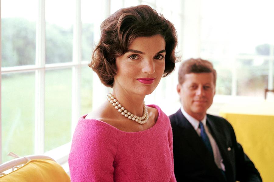 Жаклин и Джек Кеннеди