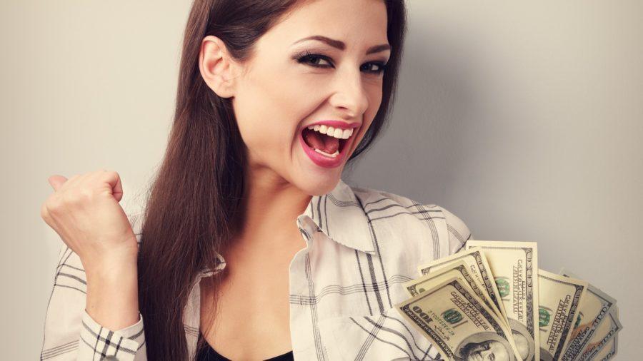 Женщины любят деньги