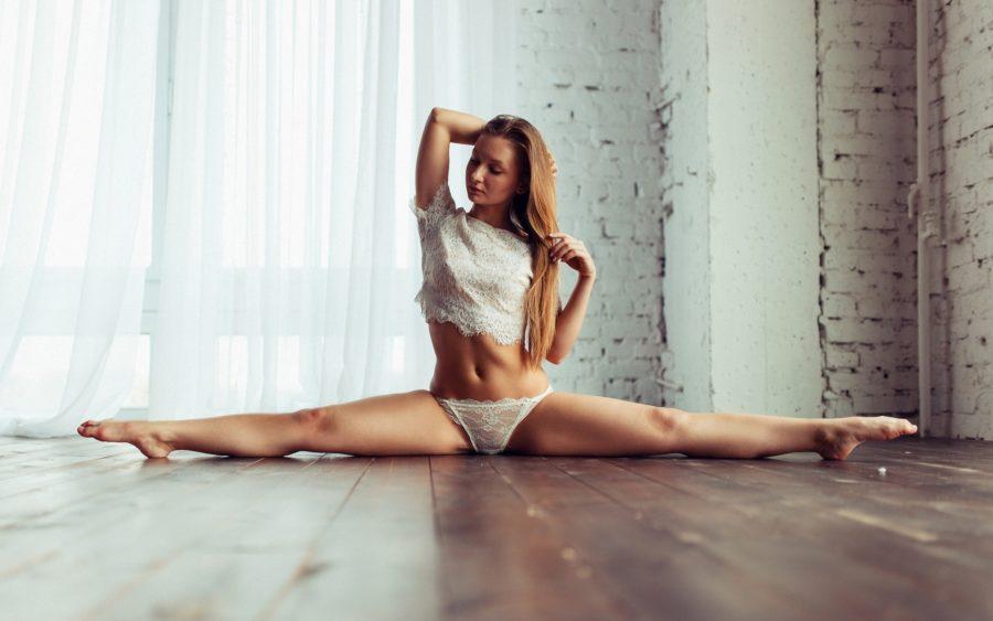 сексуальная мечта гимнастки