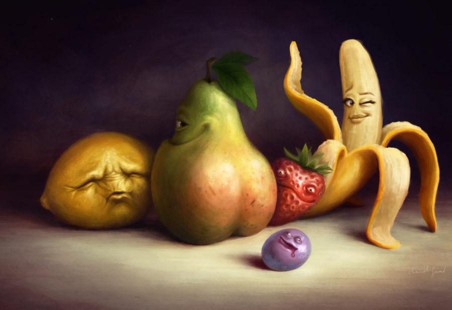 сексуальные фрукты