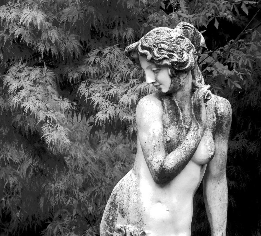 римская статуя
