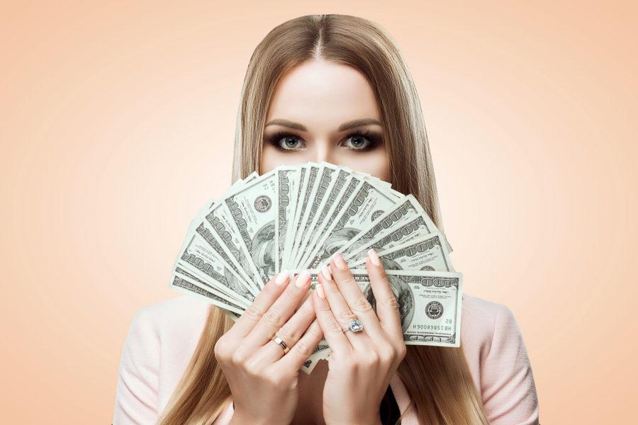 факты про деньги и женщин