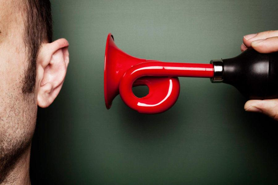 заставить себя услышать