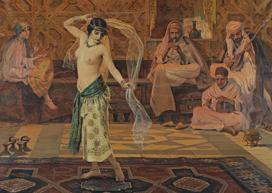 стриптиз в древности