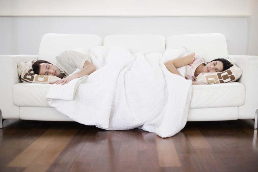 неудобства совместного сна