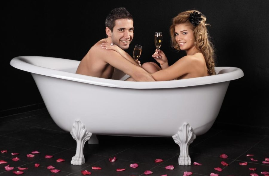секс в ванне