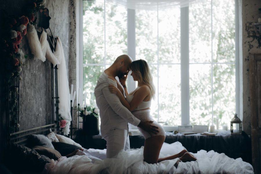 перед поцелуем