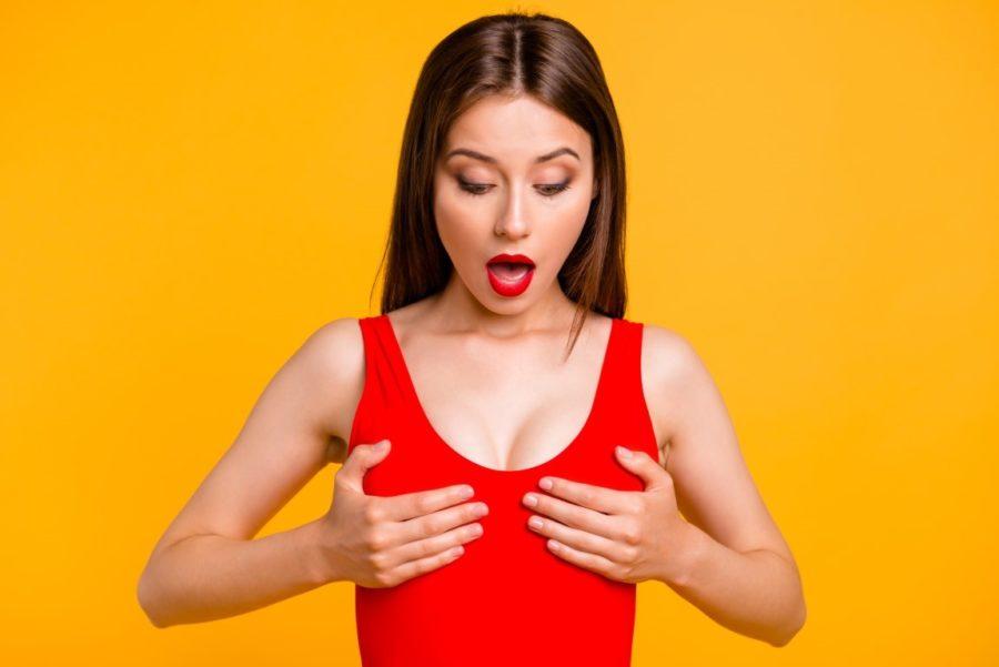 Большая натуральная грудь