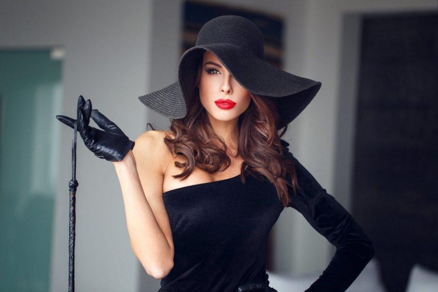 женщина вамп
