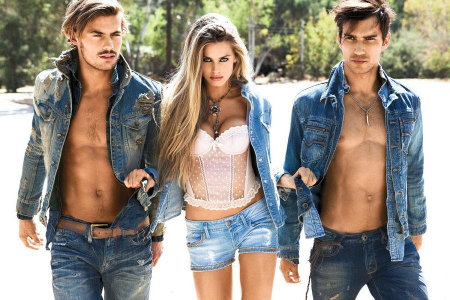 девушка и 2 парня