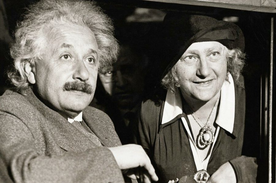 Альберт и Эльза Эйнштейн