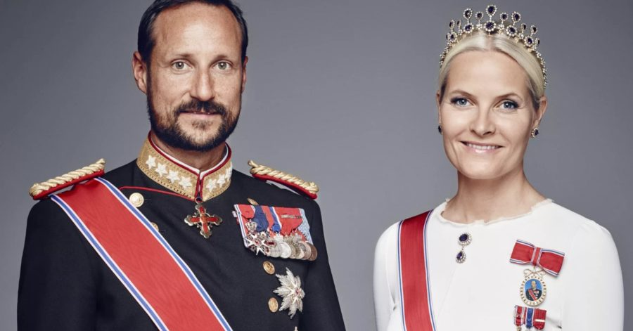 принц Норвегии Хокон и Метте-Марит