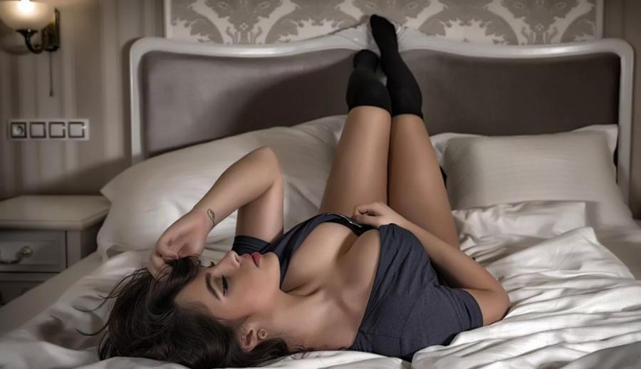 Женщина бревно в постели