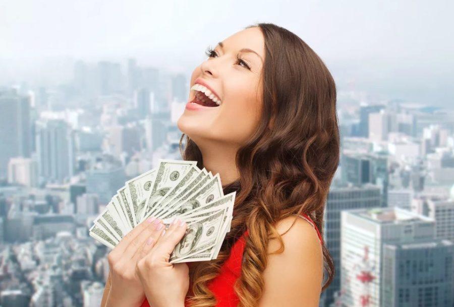 Женщина хочет мужчину с деньгами