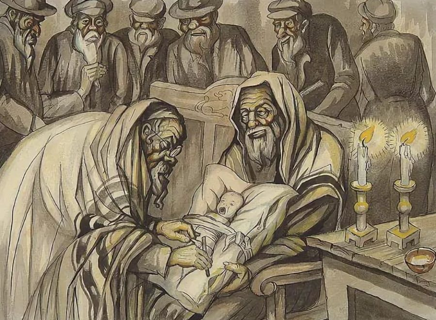 Мужское обрезание в иудействе