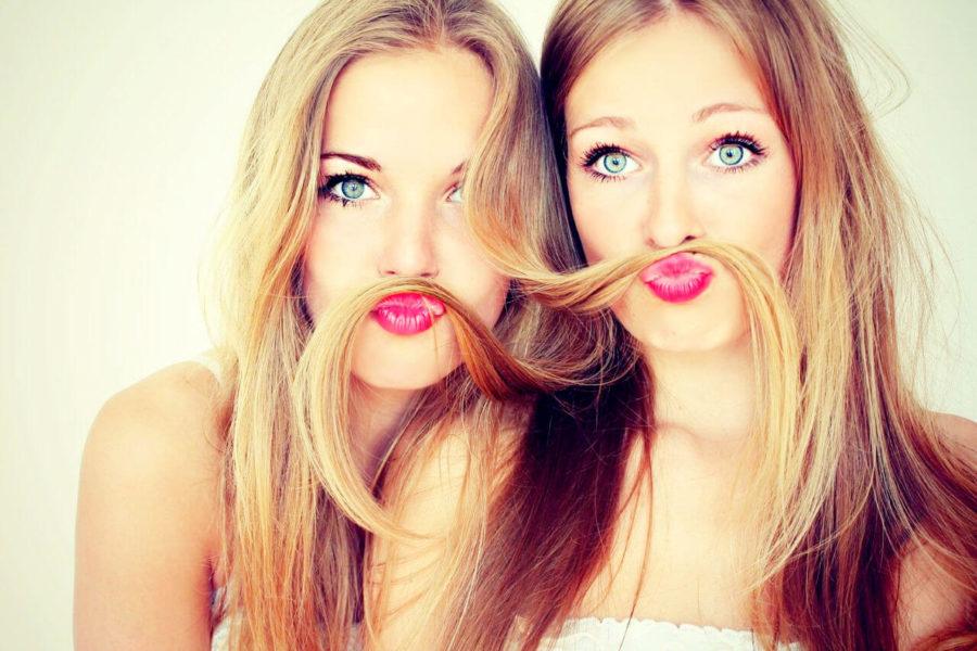 блондинки и брюнетки