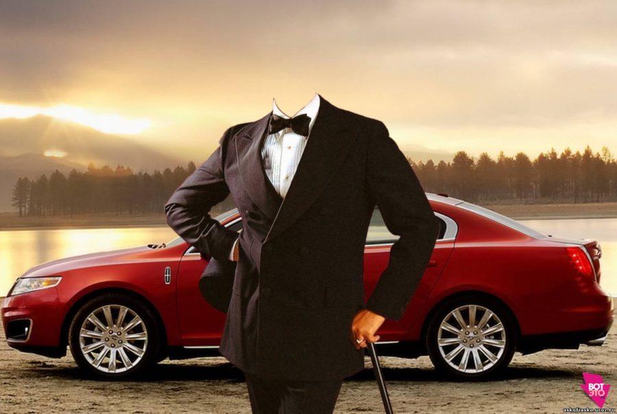 Мужчина с дорогой машиной