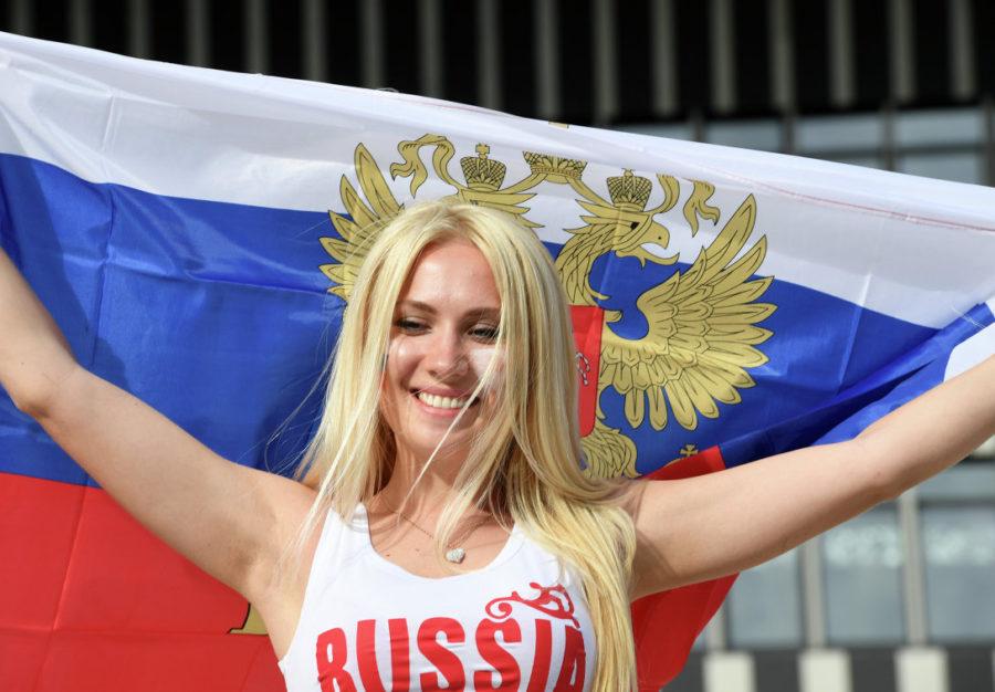 Красивая Россиянка