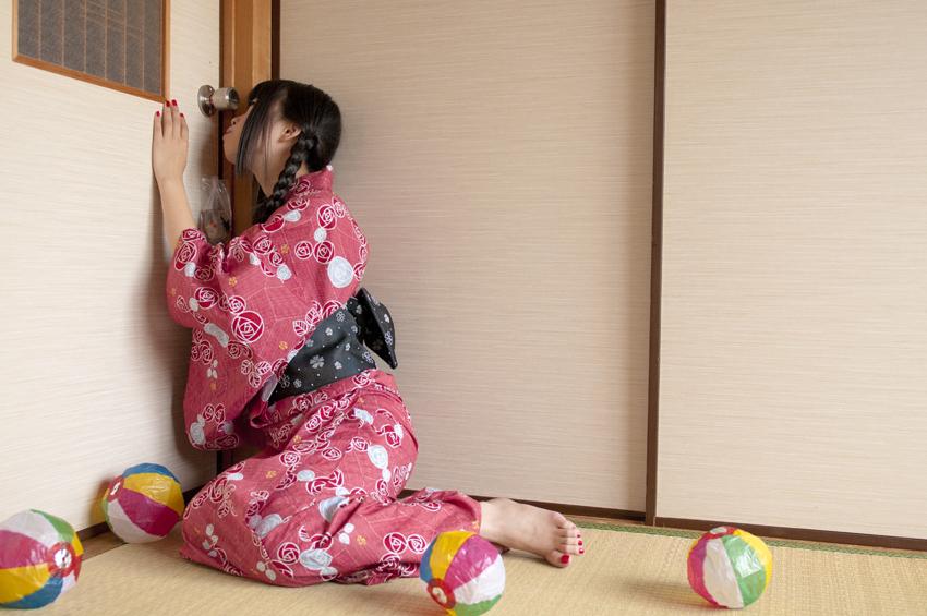 японский фетиш дверных ручек