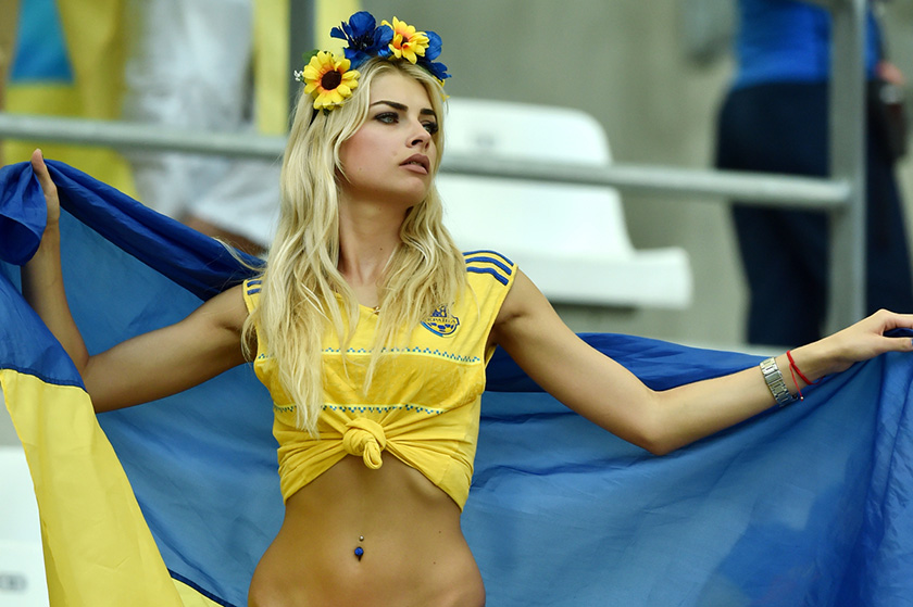 о самых красивых украинках
