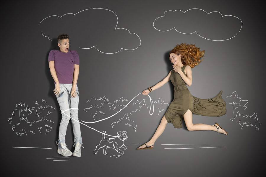 любовные отношения с обычной женщиной