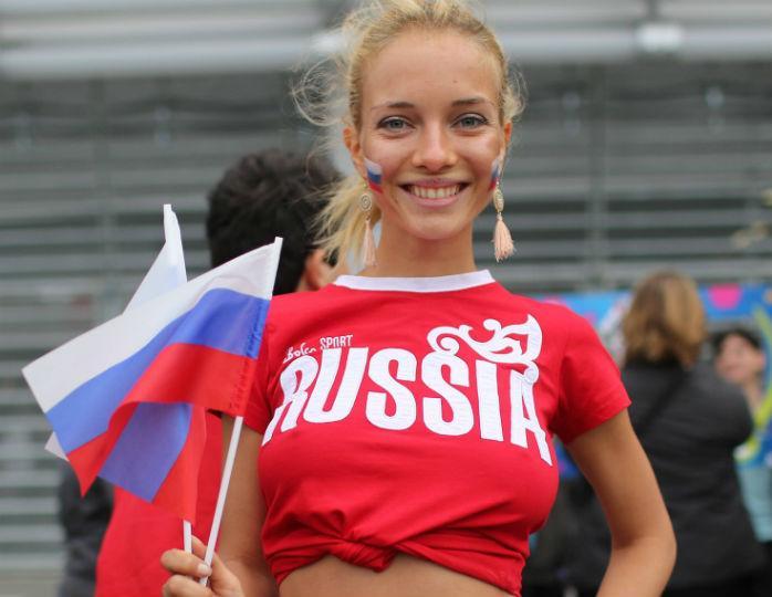 Красивая славянская девушка