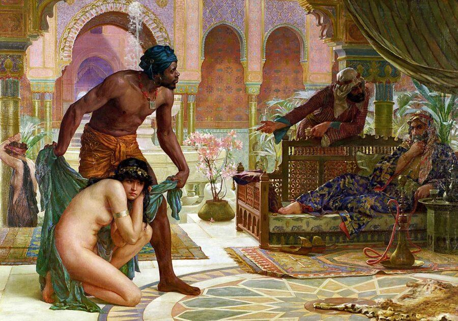 рабыни в древности
