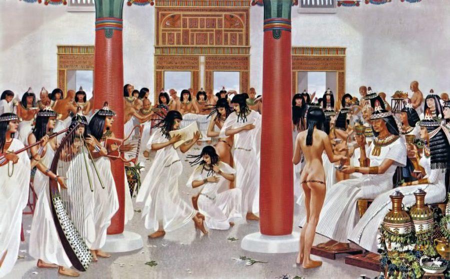 каким был секс в Древнем Египте
