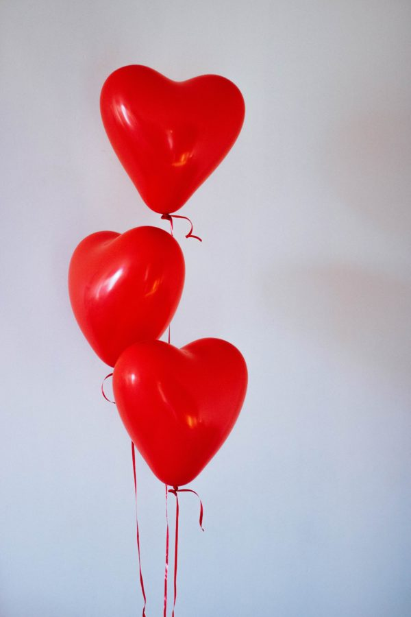 шарики сердечки